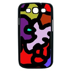 Colorful abstraction by Moma Samsung Galaxy S III Case (Black)