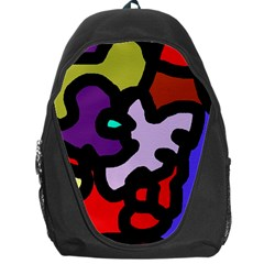 Colorful abstraction by Moma Backpack Bag