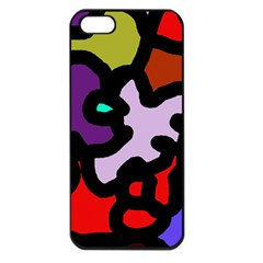 Colorful abstraction by Moma Apple iPhone 5 Seamless Case (Black)