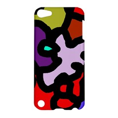 Colorful abstraction by Moma Apple iPod Touch 5 Hardshell Case