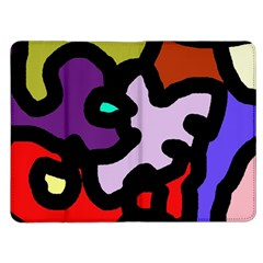 Colorful abstraction by Moma Kindle Fire (1st Gen) Flip Case