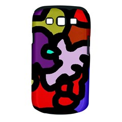 Colorful abstraction by Moma Samsung Galaxy S III Classic Hardshell Case (PC+Silicone)