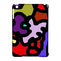 Colorful abstraction by Moma Apple iPad Mini Hardshell Case (Compatible with Smart Cover)
