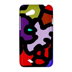 Colorful abstraction by Moma HTC Desire VC (T328D) Hardshell Case