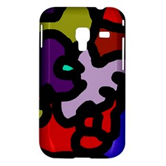 Colorful abstraction by Moma Samsung Galaxy Ace Plus S7500 Hardshell Case