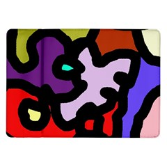 Colorful abstraction by Moma Samsung Galaxy Tab 10.1  P7500 Flip Case