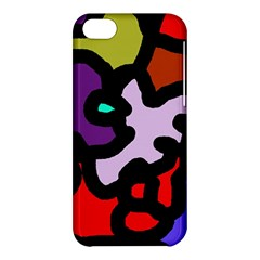 Colorful abstraction by Moma Apple iPhone 5C Hardshell Case