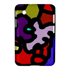Colorful abstraction by Moma Samsung Galaxy Tab 2 (7 ) P3100 Hardshell Case