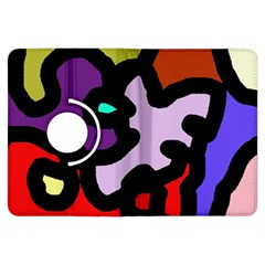 Colorful abstraction by Moma Kindle Fire HDX Flip 360 Case