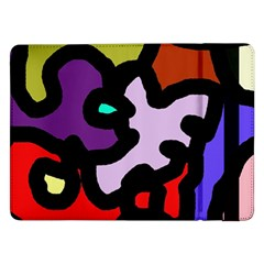 Colorful abstraction by Moma Samsung Galaxy Tab Pro 12.2  Flip Case