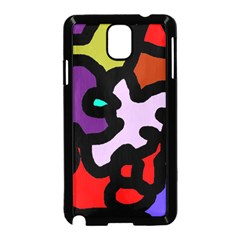 Colorful abstraction by Moma Samsung Galaxy Note 3 Neo Hardshell Case (Black)