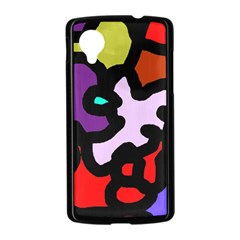 Colorful abstraction by Moma Nexus 5 Case (Black)