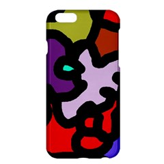 Colorful abstraction by Moma Apple iPhone 6 Plus/6S Plus Hardshell Case