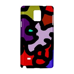 Colorful abstraction by Moma Samsung Galaxy Note 4 Hardshell Case
