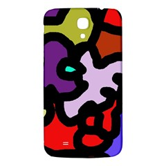 Colorful abstraction by Moma Samsung Galaxy Mega I9200 Hardshell Back Case