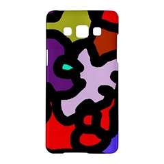 Colorful abstraction by Moma Samsung Galaxy A5 Hardshell Case