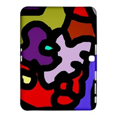 Colorful abstraction by Moma Samsung Galaxy Tab 4 (10.1 ) Hardshell Case