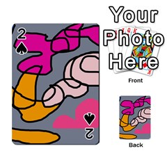 Colorful abstract design by Moma Playing Cards 54 Designs