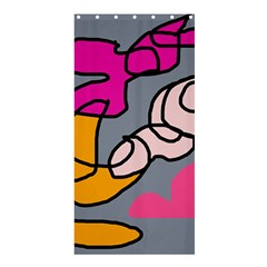 Colorful abstract design by Moma Shower Curtain 36  x 72  (Stall)