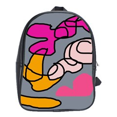 Colorful abstract design by Moma School Bags (XL)