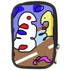 Abstract comic Compact Camera Cases