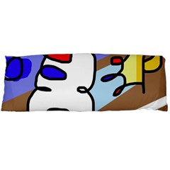 Abstract comic Body Pillow Case Dakimakura (Two Sides)