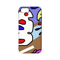 Abstract comic Apple iPhone 5 Classic Hardshell Case (PC+Silicone)