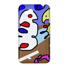 Abstract comic HTC Desire VC (T328D) Hardshell Case