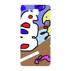 Abstract comic Samsung Galaxy Alpha Hardshell Back Case