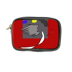 Red abstraction by Moma Coin Purse