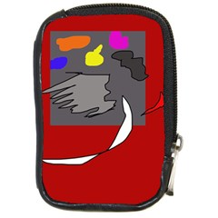 Red abstraction by Moma Compact Camera Cases