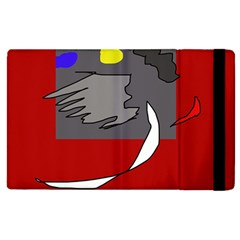 Red abstraction by Moma Apple iPad 2 Flip Case