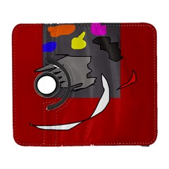 Red abstraction by Moma Samsung Galaxy S  III Flip 360 Case