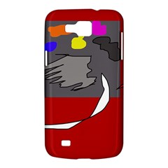 Red abstraction by Moma Samsung Galaxy Premier I9260 Hardshell Case