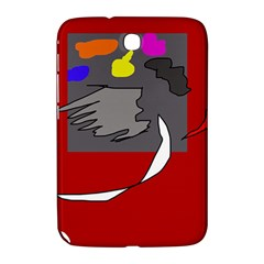 Red abstraction by Moma Samsung Galaxy Note 8.0 N5100 Hardshell Case