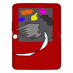 Red abstraction by Moma Samsung Galaxy Tab 3 (10.1 ) P5200 Hardshell Case