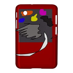Red abstraction by Moma Samsung Galaxy Tab 2 (7 ) P3100 Hardshell Case