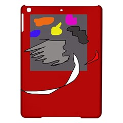 Red abstraction by Moma iPad Air Hardshell Cases