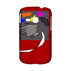 Red abstraction by Moma Samsung Galaxy S6310 Hardshell Case