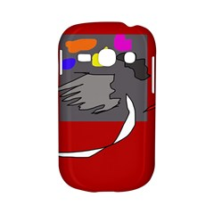 Red abstraction by Moma Samsung Galaxy S6810 Hardshell Case