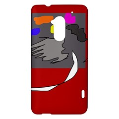 Red abstraction by Moma HTC One Max (T6) Hardshell Case