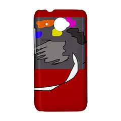 Red abstraction by Moma HTC Desire 601 Hardshell Case