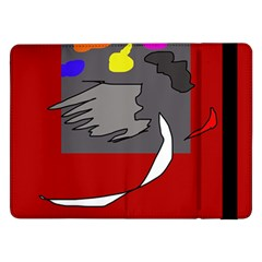 Red abstraction by Moma Samsung Galaxy Tab Pro 12.2  Flip Case