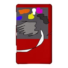 Red abstraction by Moma Samsung Galaxy Tab S (8.4 ) Hardshell Case