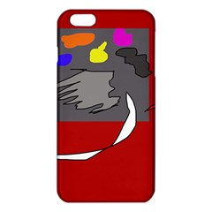 Red abstraction by Moma iPhone 6 Plus/6S Plus TPU Case