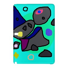 Blue comic abstract Samsung Galaxy Tab Pro 12.2 Hardshell Case