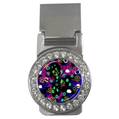 Abstract colorful chaos Money Clips (CZ)