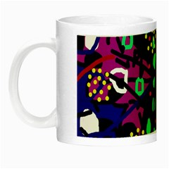 Abstract colorful chaos Night Luminous Mugs