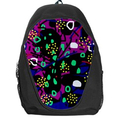 Abstract colorful chaos Backpack Bag