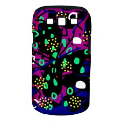 Abstract colorful chaos Samsung Galaxy S III Classic Hardshell Case (PC+Silicone)